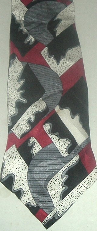 SCREENPLAY by Martin Wong Silk Neck TIE Necktie
