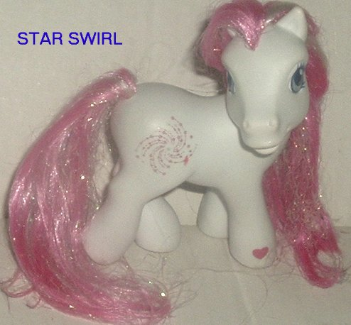G3 Hasbro My Little Pony MLP STAR SWIRL