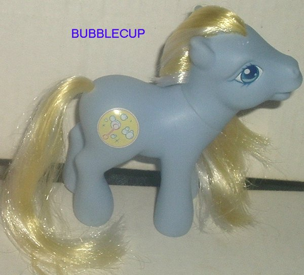 G3 My Little Pony MLP BUBBLECUP Hasbro