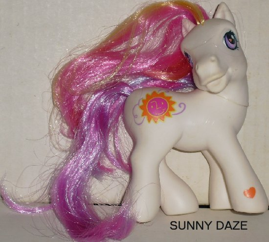 G3 My Little Pony MLP SUNNY DAZE head turned Hasbro