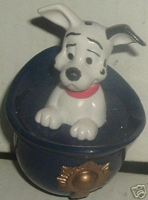 101 Dalmation in Police hat, McD McDonalds toy Disney