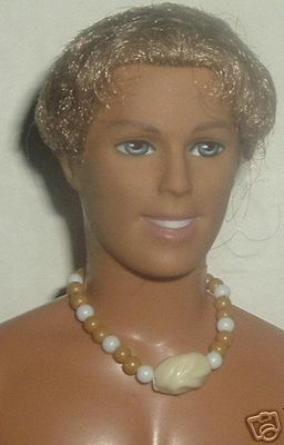 Barbie's boyfriend KEN Doll Blonde Rooted hair tan