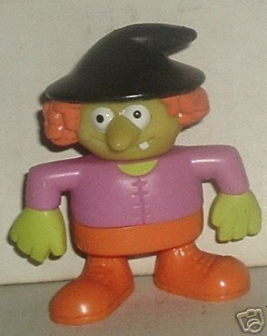 "Good Goblin ZELDA Zoombroom figure 3"", 1989 Burger King"